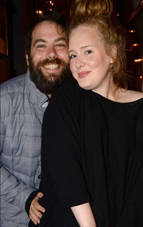 Simon Konecki with his ex-wife, Adele. | Source: eonline.com