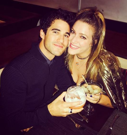 Mia Elan Swier with her husband, Darren Criss | Source: Instagram