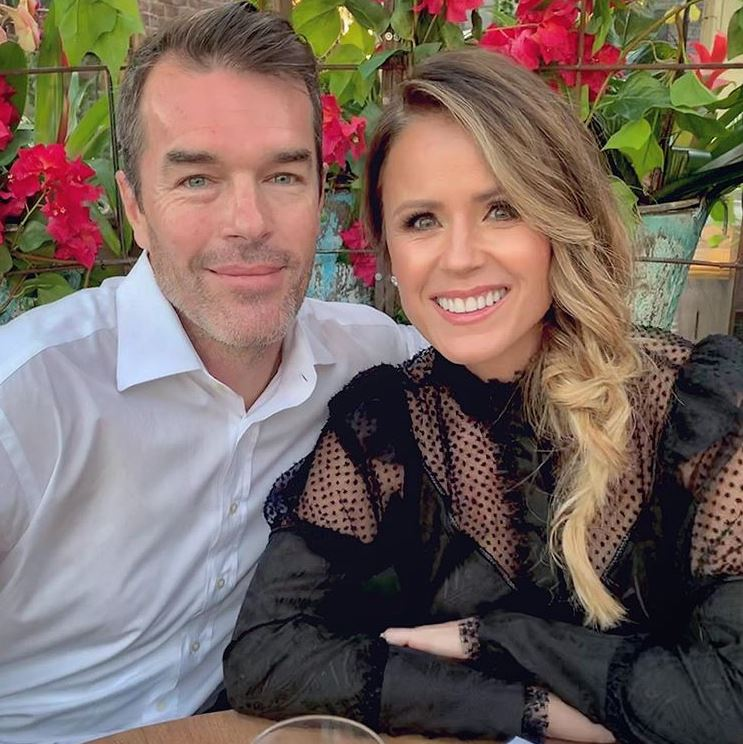 Trista Sutter with her husband, Ryan Sutter. | Source: Trista's Instagram