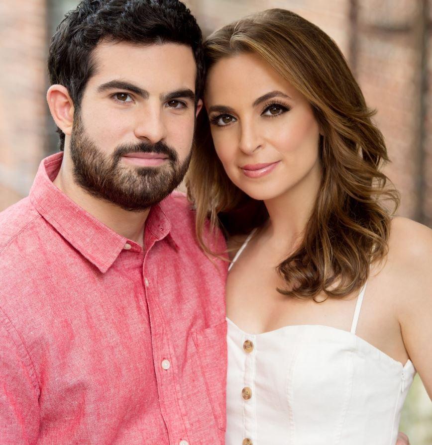 Jeremy Scher with his wife, Jedediah Bila. | Source: theknotnews.com