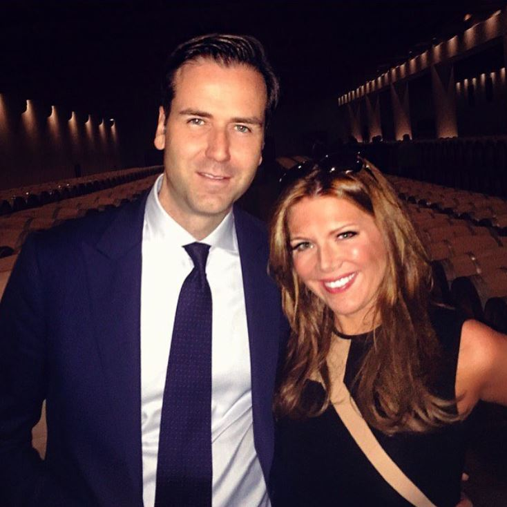 Trish Regan with her husband, James A. Ben. | Source: Trish's Instagram