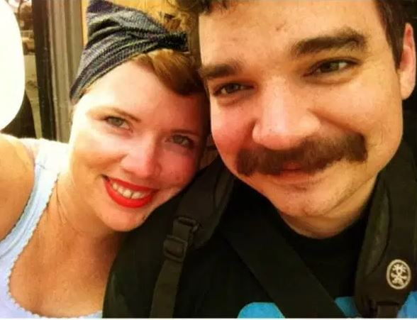 Clementine Ford with her ex-partner, Jesse Booher. | Source: Instagram.com