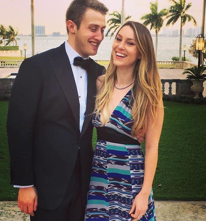 Andrew Marks with his wife, Rachel Crane. | Source: Rachel's Instagram