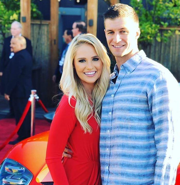 Tomi Lahren with her ex-fiance, Brandon Fricke. | Source: Brandon's Instagram