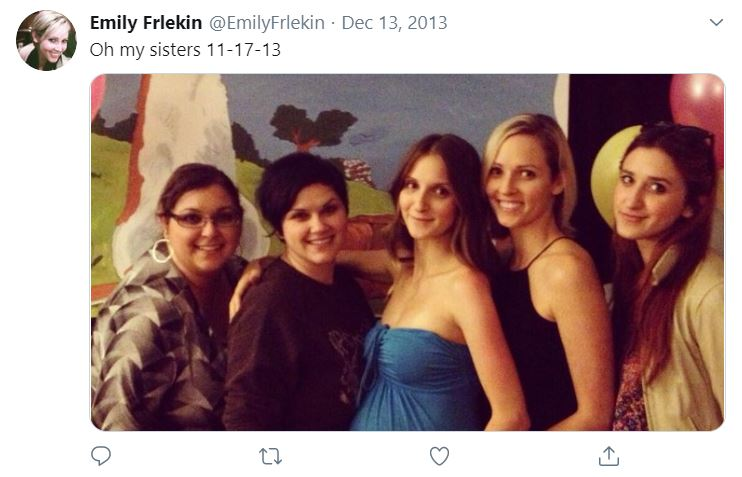 Emily Frlekin with Sibling/s}}