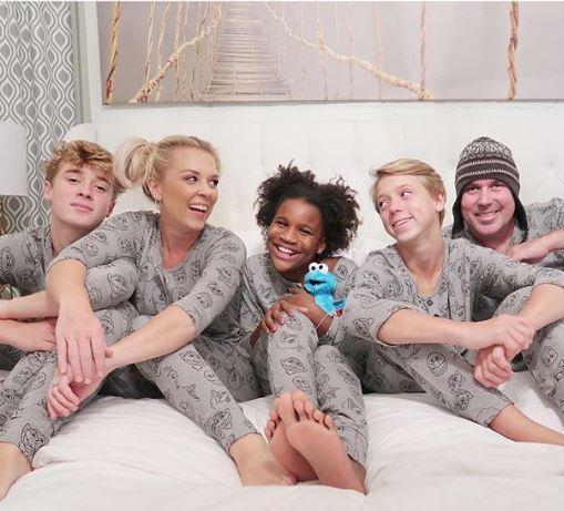 Kortney wilson with her family   Source: Instagram