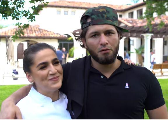 Jorge Masvidal and Ex-girlfriend Iman Kawa | Source: Youtube