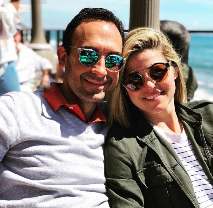 Kate Bolduan with her husband, Michael David Gershenson. | Source: Instagram.com