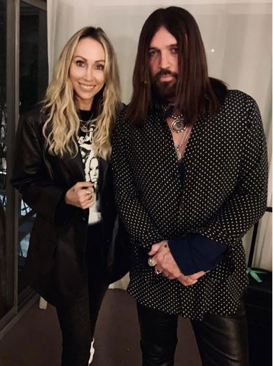 Tish Cyrus with her husband | Source: Instagram
