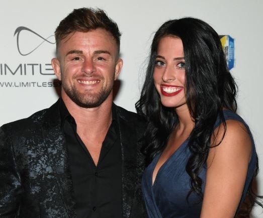 Cody Stamann with his girlfriend, Sydney Grae | Source: Instgram