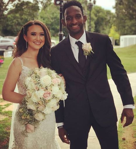 Neil Magny with his wife | Source: Instagram