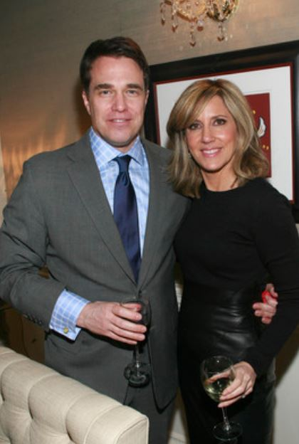 Alisyn Camerota with her husband, Tim Lewis. | Source: PatrickMcMullan.com