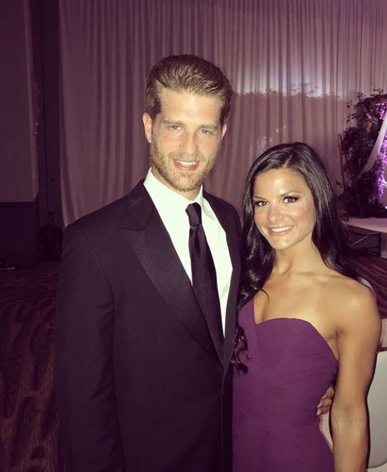 Courtney Galiano with her husband, Jonah Platt. | Source: Courtney's Instagram