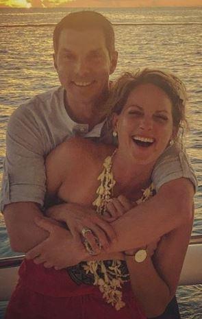 Jamie Yuccas with her boyfriend | Source: Allstarbio.com
