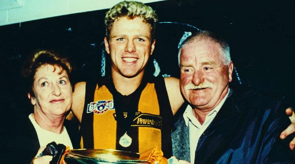 Dermott Brereton with Parent/s}}
