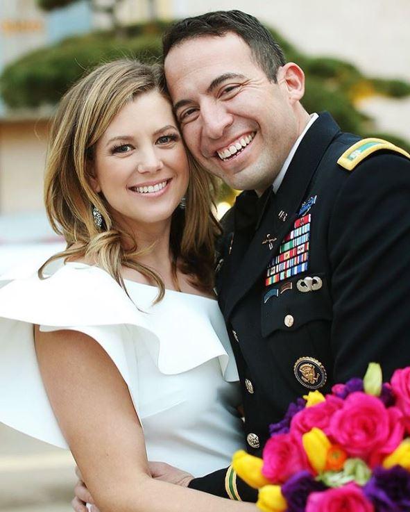 Fernando Lujan with his wife, Brianna Keilar. | Source: Brianna 's Instagram