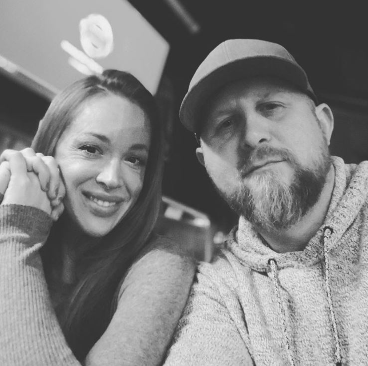 Brad Parscale with his wife, Candice Parscale. | Source: Brad's Instagram