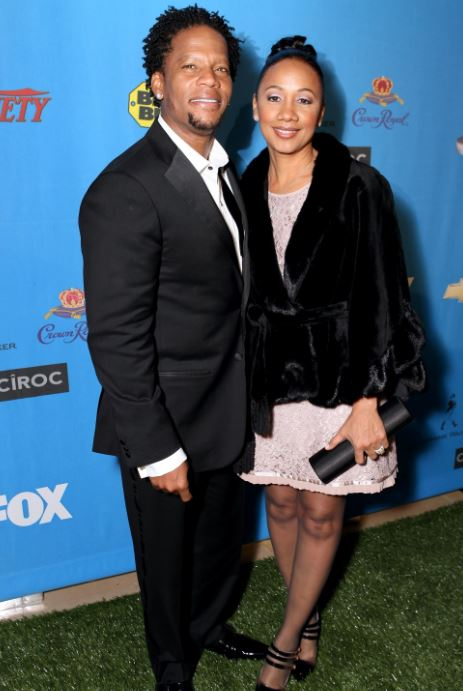LaDonna Hughley with her husband, D. L. Hughley. | Source: news.amomama.com