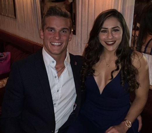 Madison Cawthron with his fiancee Cristina Bayardelle | Source: Instagram