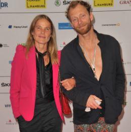 Karoline Eichhorn with her husband, Arne Nielsen | Source: ImagoImages.de