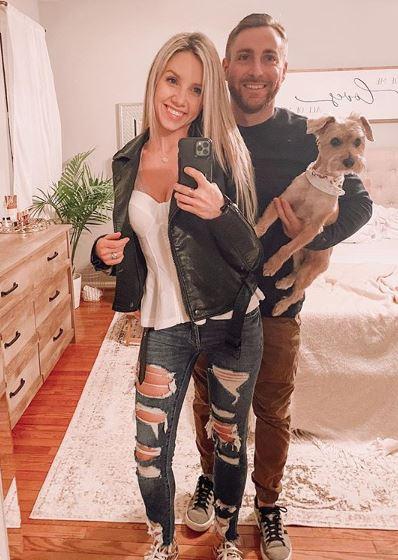 Tiffani Beaston with her husband | Source: Instagram