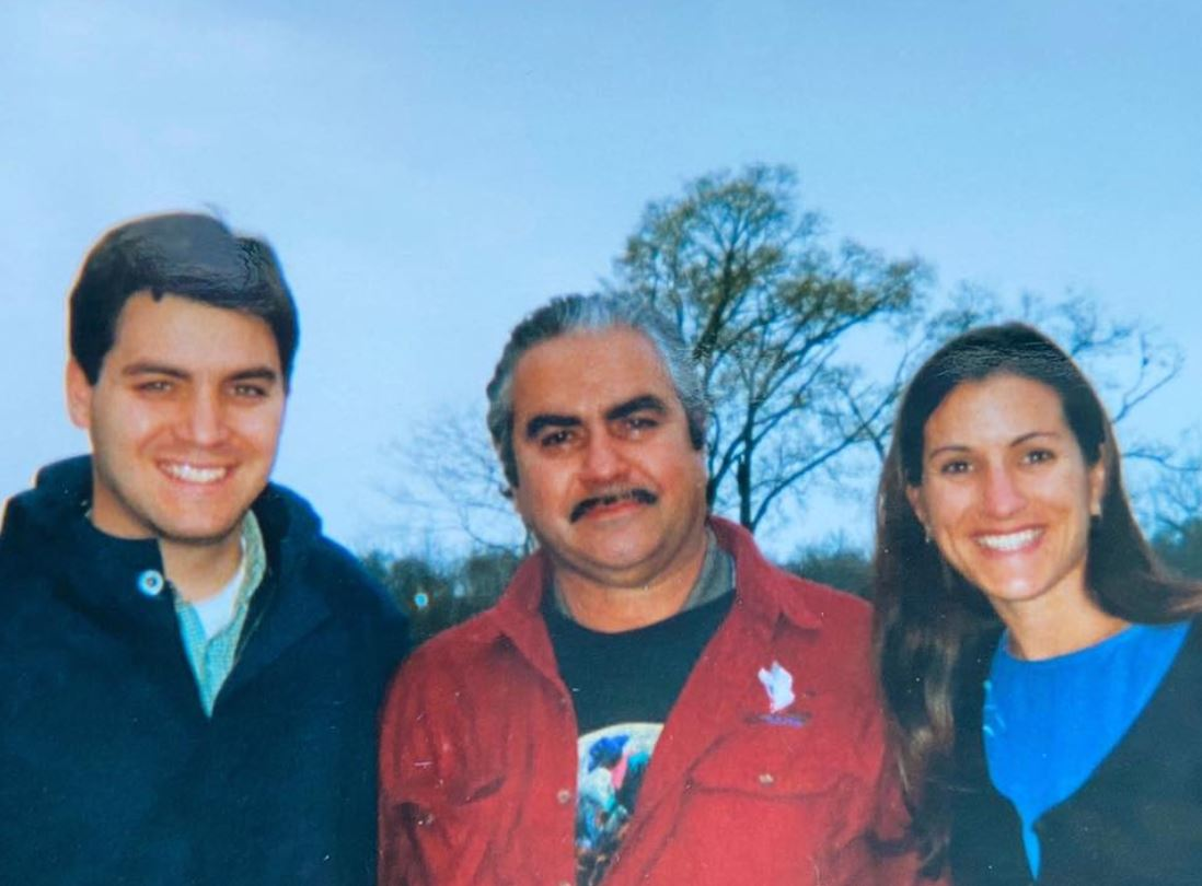 Jim Acosta with Sibling/s}}