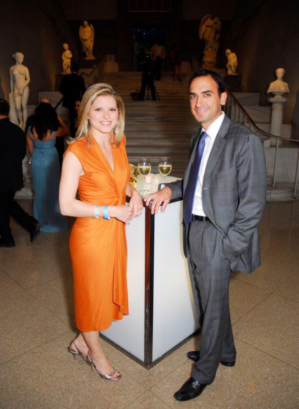 Michael David Gershenson with his wife, Kate Bolduan. | Source: famousdc.com