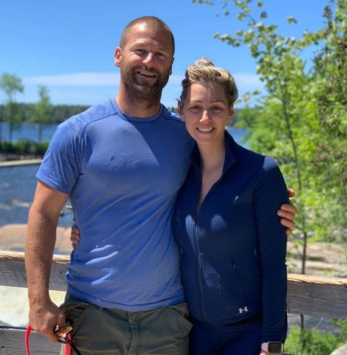 Dave Salmoni with his wife, Debra Salmoni.