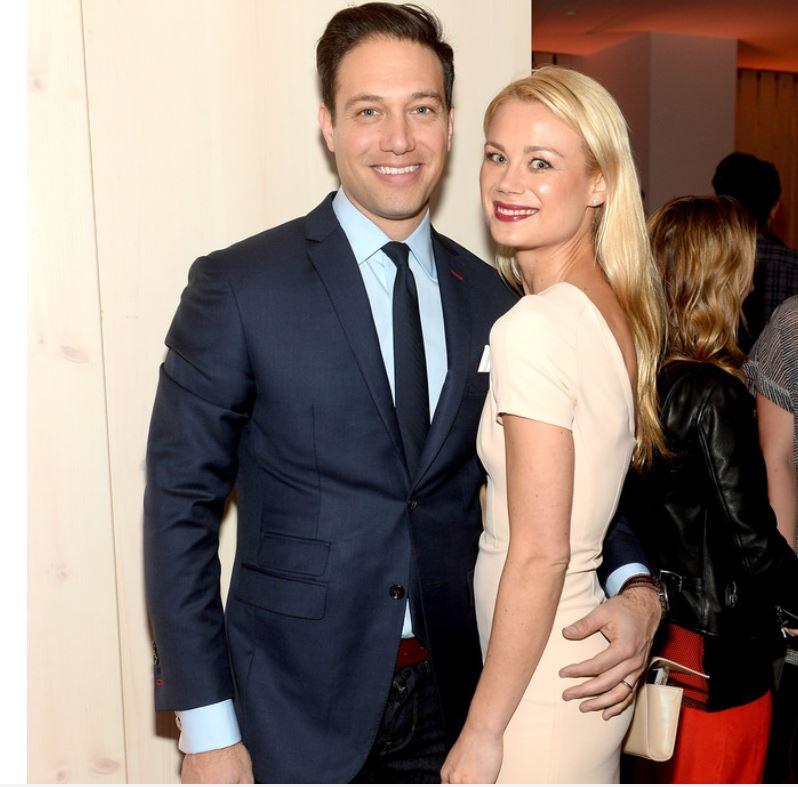 Eric Villency with his ex-wife, Caroline Fare. | Source: Zimbio.com