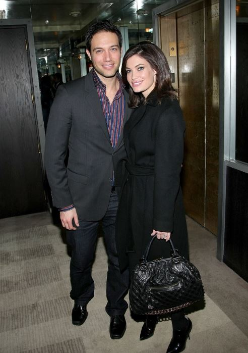 Eric Villency with his ex-wife, Kimberly Guilfoyle. | Source: mercurynews.com