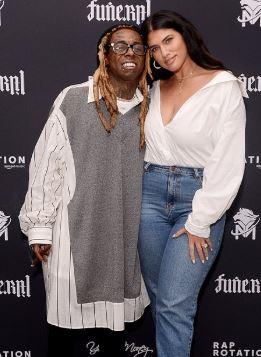 Denise Bidot and her boyfriend, Lil Wayne | Source: Dailymail.co.uk