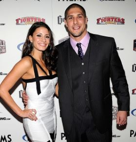 Brendan Schaub with his wife | Source: Gettyimages.com