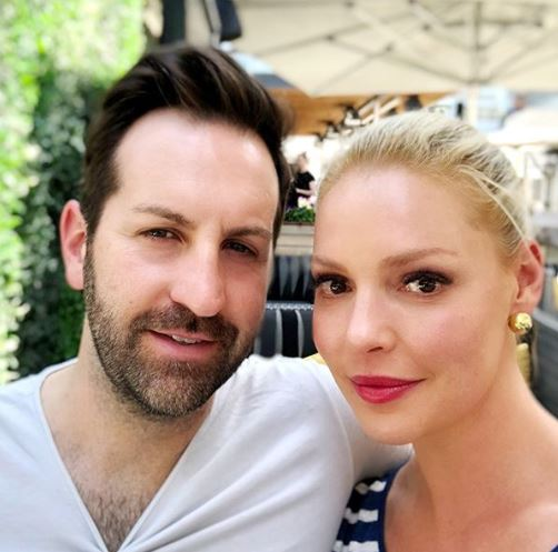 Katherine Heigl with her husband | Source: Instagram