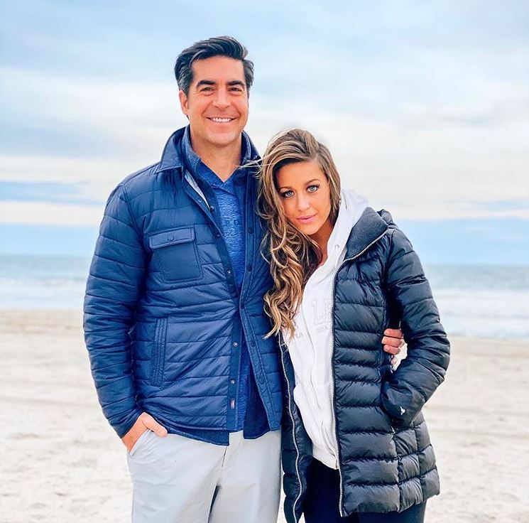 Emma DiGiovine with her husband, Jesse Watters. | Source: Instagram