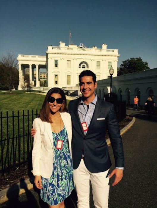 Noelle Watters with her ex-husband, Jesse Watters. | Source: enewspaper.nydailynews.com