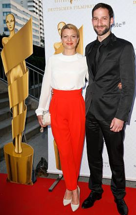 Jördis Triebel with her Ex-husband | Source: Instagram