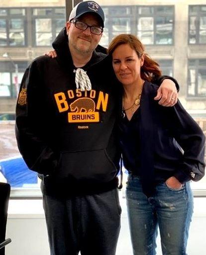 Erika Nardini with her Husband | Source:Dreshare.com