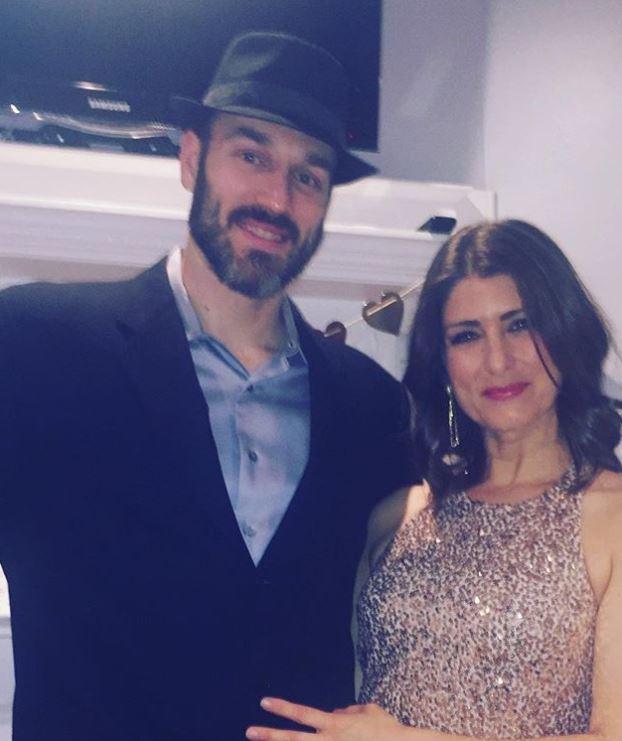 Vanessa Murdock with her husband. | Source: Instagram