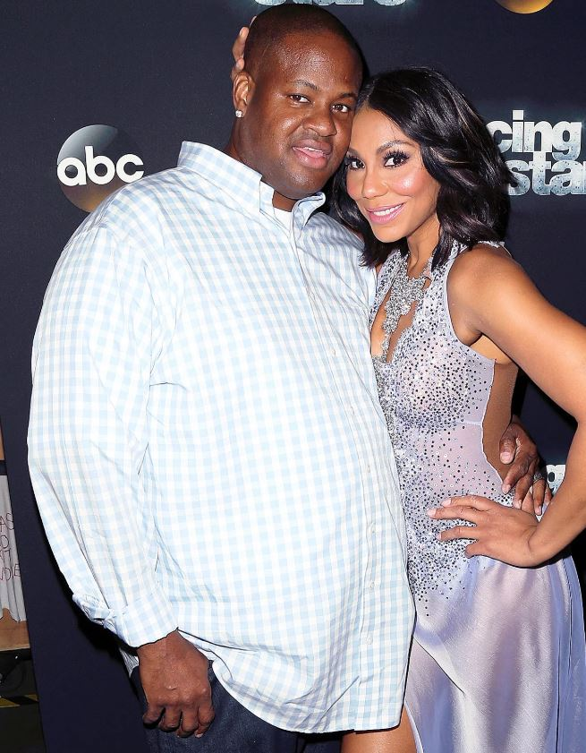 Tamar Braxton with her ex-husband, Vincent Herbert. | Source: People.com