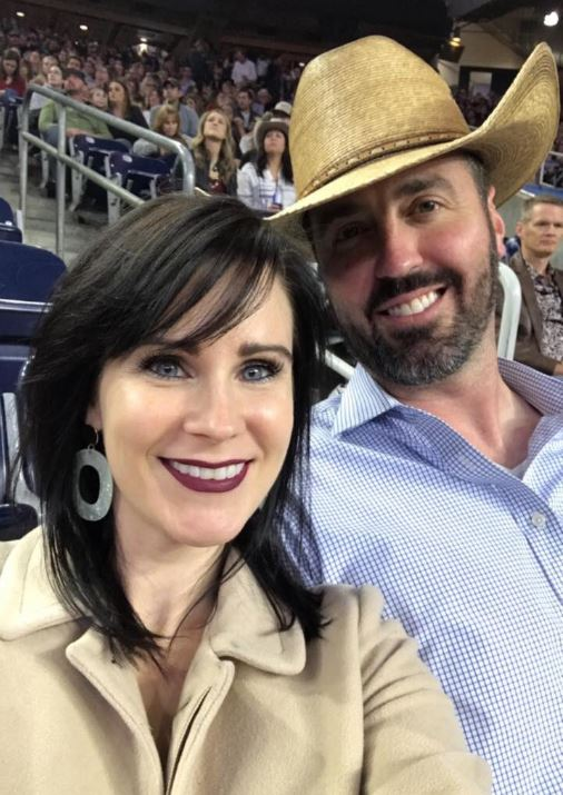 Jesse Kelly with his wife, Aubrey Kelly. | Source: Twitter