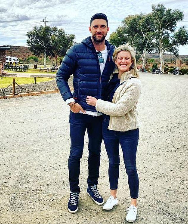 Justine Schofield with her boyfriend, Brent Staker.   Source: Brent's Instagram