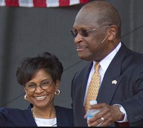 Herman Cain and his wife, Gloria | Source: The Atlantic