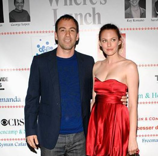 Amanda Humphrey with her ex-husband, Bryan Callen. | Source: gettyimages.com