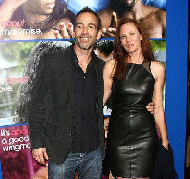 Bryan Callen with her ex-wife, Amanda Humphrey. | Source: gettyimages.com