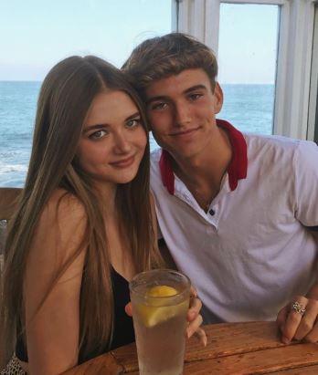 Reylynn Caster and her boyfriend | Source: Instagram