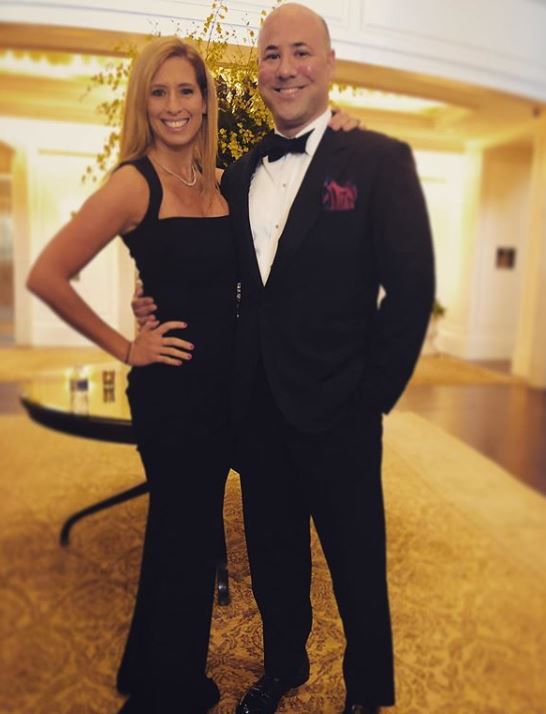 Stephanie Abrams with her husband, Liann Freeman. | Source: Instagram