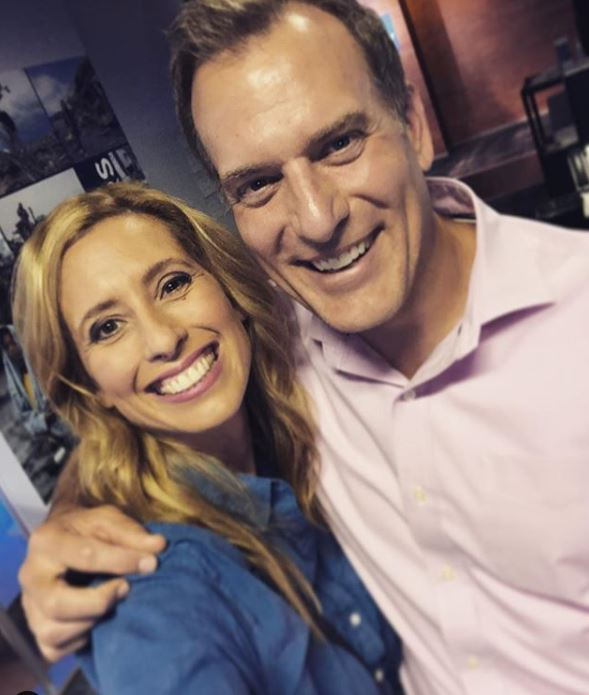 Stephanie Abrams with her ex-husband, Mike Bettes. | Source: Instagram