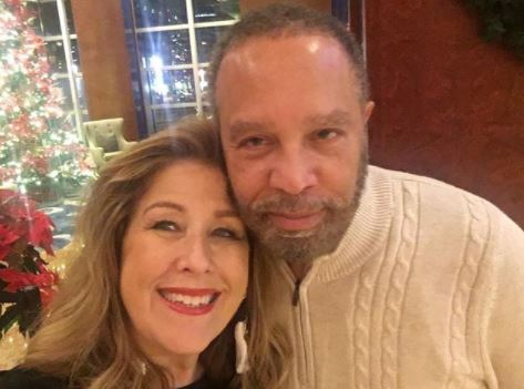 Sue Serio with her husband   Source: Instagram