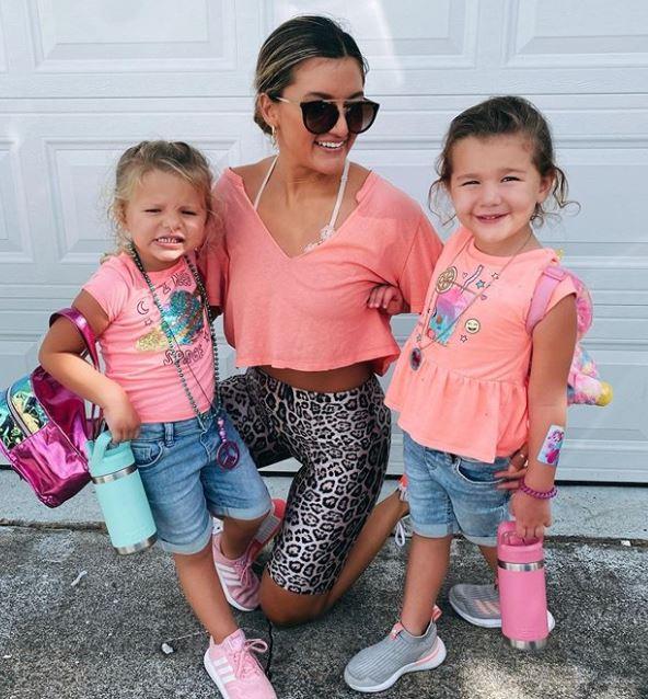 Monica Ceraolo with Children}}