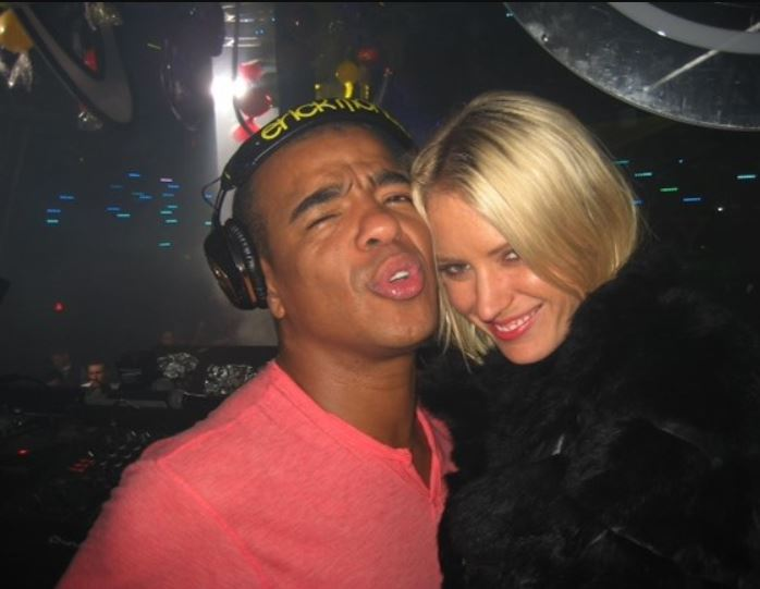 Erick Morillo with his wife, Yasmin Sait-Armstrong Morillo. | Source: justgiving.com